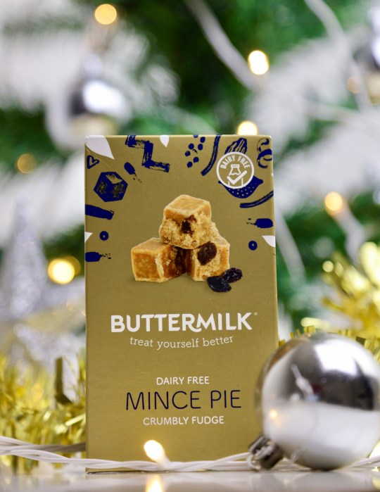 Buttermilk mince pie fudge