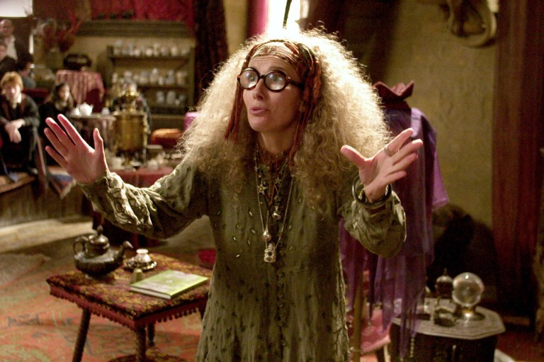 Emma Thompson as Sybill Trelawney in Harry Potter and the Prisoner Of Azkaban