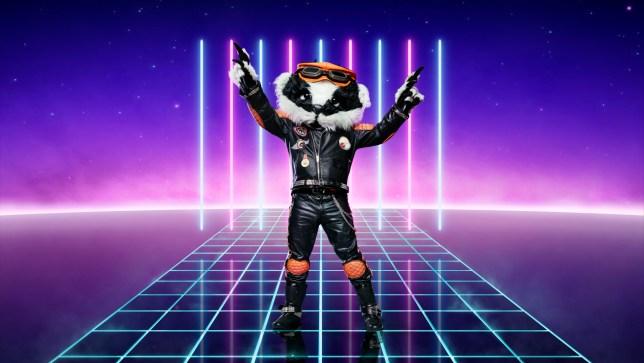 TheMasked Singer Badger