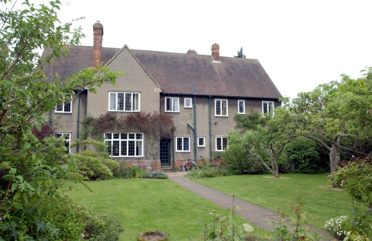 JRR Tolkien's house in Oxford