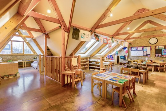 It was previously used as a Montessori NurseryIt was previously used as a Montessori Nursery