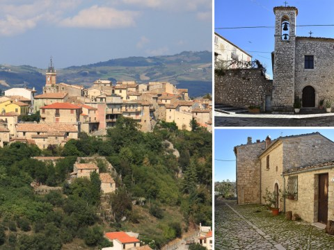 An Italian hilltop village is offering homes for 90p