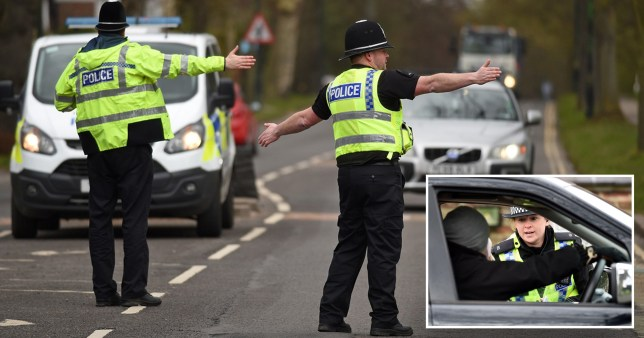 Police checks between tier 3 and tier 2 in Yorkshire