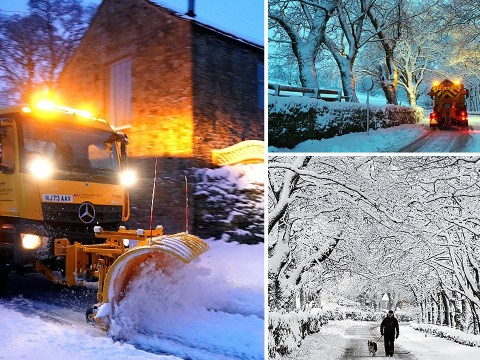 More snow is on its way as Brits brace for 'coldest night of the year'