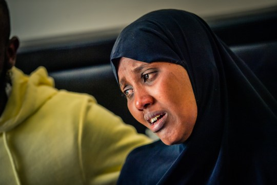 An inquest into the drowning of a 12-year-old girl has recorded a conclusion of accidental death. Shukri Yahye-Abdi drowned after getting into difficulties in the River Irwell in Bury, Greater Manchester, during a heatwave on June 27 last year. Caption: Zamzam Ture, mother of Shukri Yahye-Abdi, 12, who died in Bury, Greater Manchester, on June 27, 2019