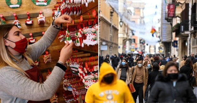 Italy approves new restrictions over Christmas as daily deaths hit record high
