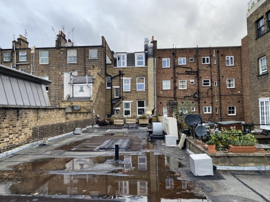 Picture: Allsop Storage room and roof space in Notting Hill up for sale for same price as a flat