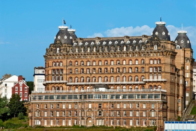 The Grand Hotel is a large hotel in Scarborough, England, overlooking the town's South Bay. It is now a Grade II, listed building that is owned by Britannia Hotels. (Photo by: Education Images/Universal Images Group via Getty Images)