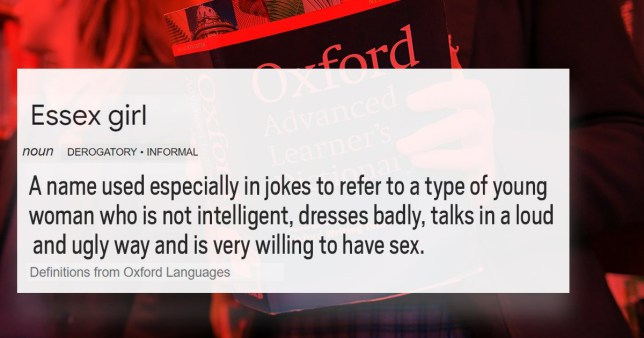 'Essex girl' removed from dictionary after campaigners say term is offensive