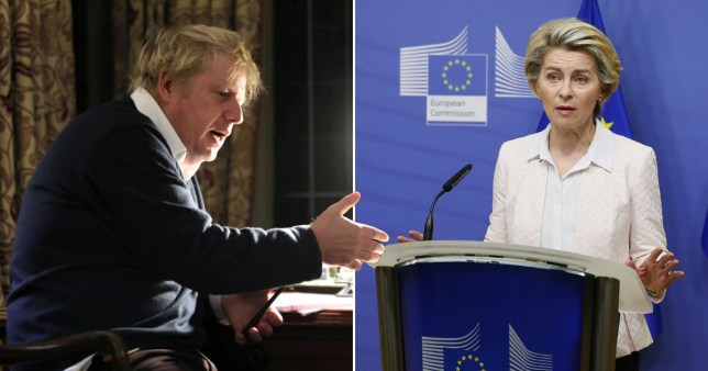 Boris Johnson and Ursula von der Leyen had a phone call after Brexit negotiations were paused and decided talks would resume tomorrow but were unable to clear up the 'significant divergences'.