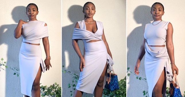 Woman makes multifaceted dresses that can be worn up to 15 different ways