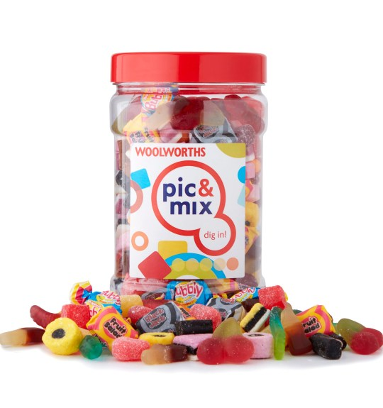 Woolworths pic and mix