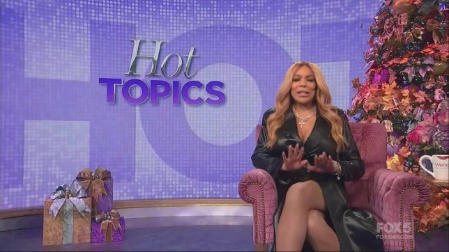 Wendy Williams crying on The Wendy Williams Show