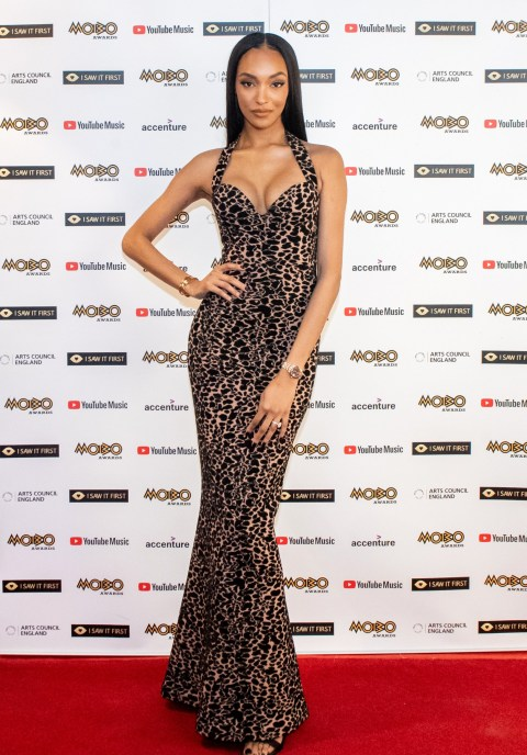 Jourdan Dunn at the MOBO Awards 2020