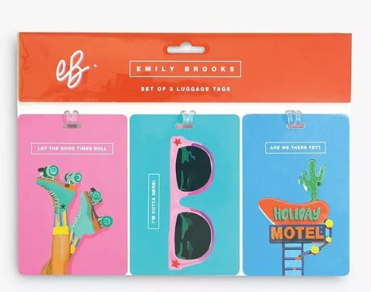 Emily Brooks Luggage Tags