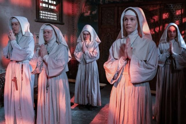 Black Narcissus characters Sister Adela, Sister Briony, Sister Ruth, Sister Clodagh