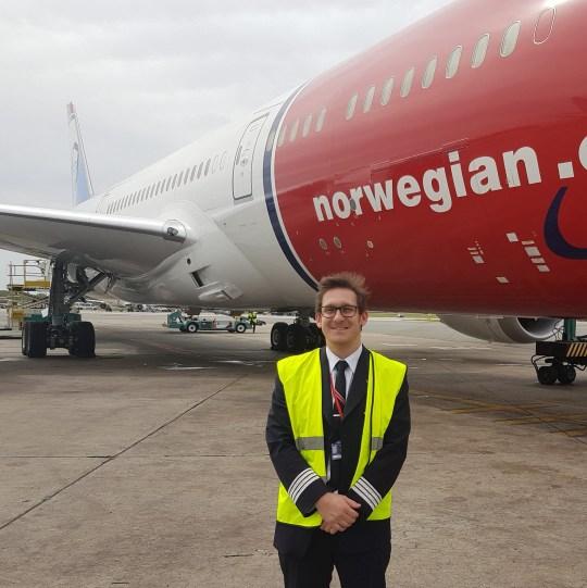 METROGRAB First picture of British pilot who died in crash Richard Addicott