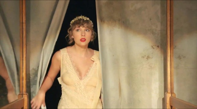 Taylor Swift in Willow music video