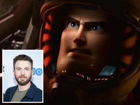 Avengers' Chris Evans swaps Captain America for Buzz Lightyear in Pixar film