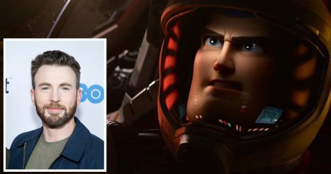 Avengers' Chris Evans swaps Captain America for Buzz Lightyear | Metro News