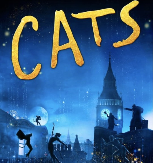 Cats movie poster