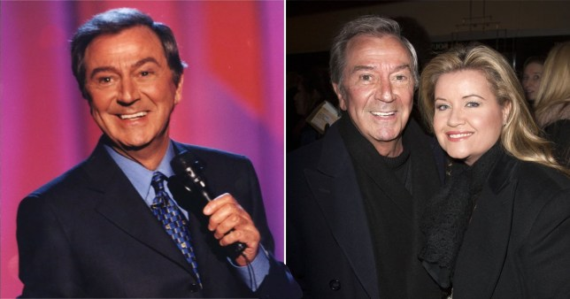 Des O 'Connor and his wife