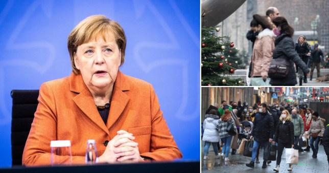 L'Allemagne entre en lock-out de Noël jusqu'en janvier