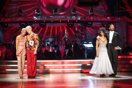 Ranvir Singh and Giovanni Pernice - Jamie Laing and Karen Hauer - Strictly dance off