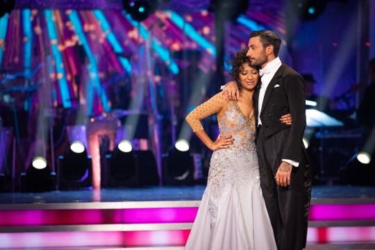 Ranvir Singh and Giovanni Pernice's final dance