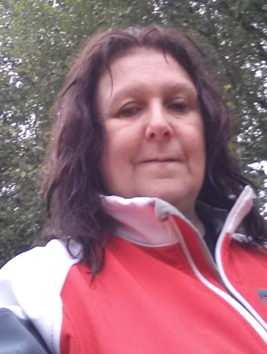 Anne outside