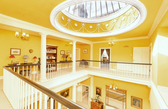 county durham castle up for sale - interior staircase
