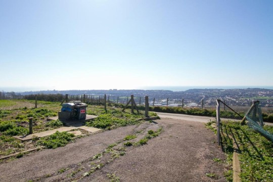 the views outside a nuclear bunker