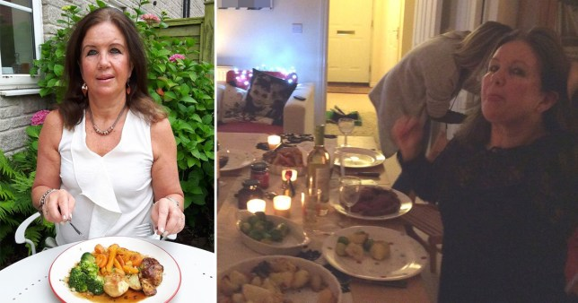Jayne Winteringham , from Bristol, has eaten a roast every day for two decades meaning she has had 7,300 Christmas dinners all together.