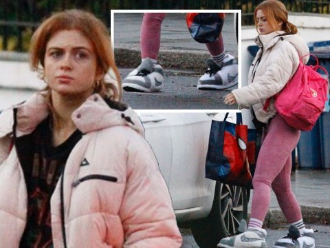 Strictly Come Dancing 2020: Maisie Smith wears enormous comedy slippers for rehearsals ahead of final