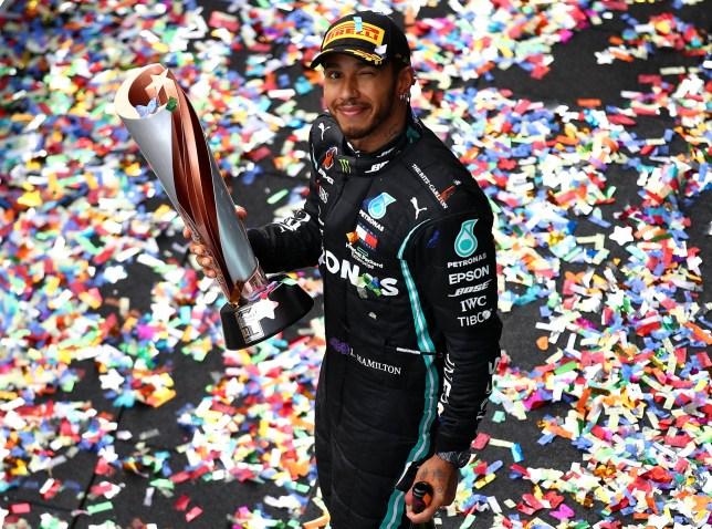 Lewis Hamilton won his sixth F1 world title last year