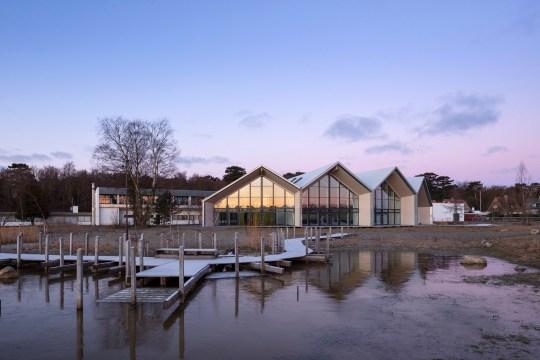 Hotel GSH, Green Solution House, on the Danish island of Bornholm