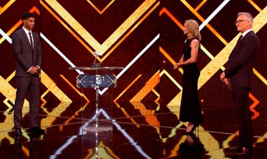 pic shows: BBC Sports Personality of the Year 20.12.20 Marcus Rashford Picture by Pixel8000 07917221968