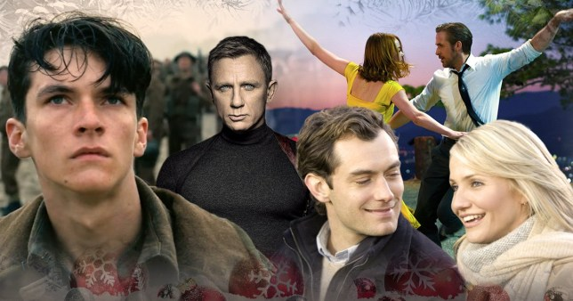 Best films to watch on TV over Christmas: Dunkirk, Spectre, La La Land and The Holiday