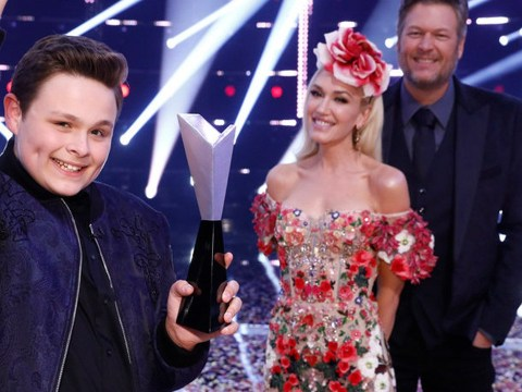 The Voice USA winner Carter Rubin wants to sing at Gwen Stefani and Blake Shelton's wedding