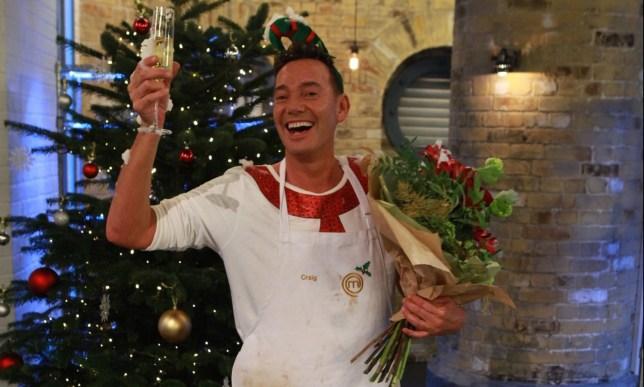 Craig Revel Horwood wins Celebrity Masterchef Christmas Cook-Off
