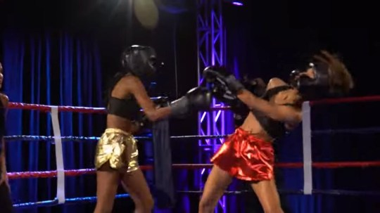 The Bachelor contestants throw punches
