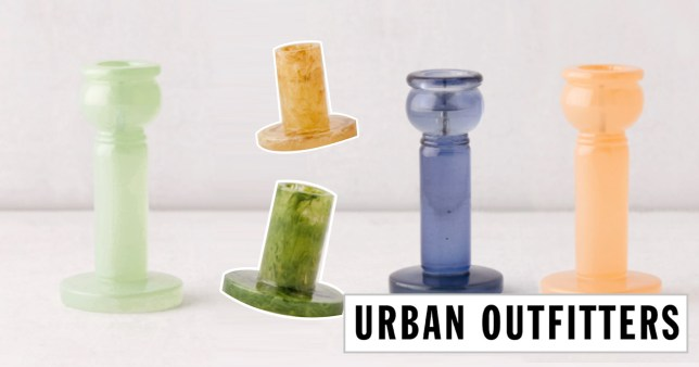 Urban Outfitters recalls candle holders at risk of catching fire if they touch a flame