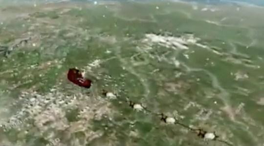 NORAD Santa Tracker on BBC News