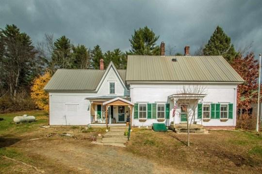Vermont cottage with jail cells hidden inside