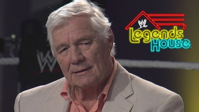 Late WWE legend Pat Patterson on Legends House