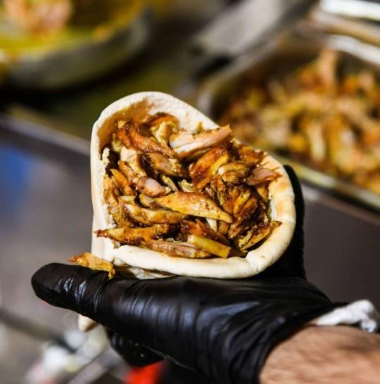 pita shawarma