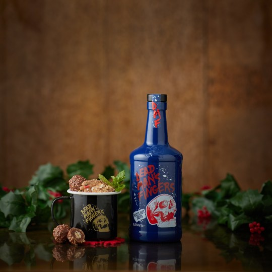 Santa's Love Handle rum cocktail