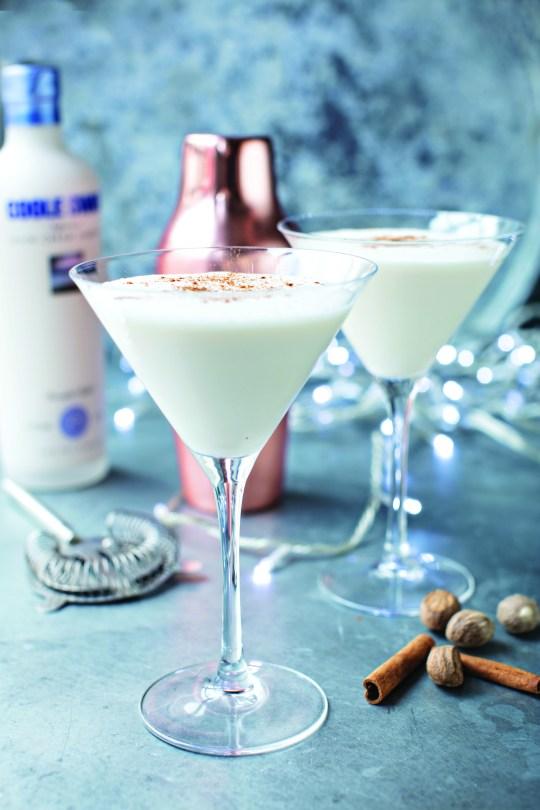 the santa's little helper cocktail
