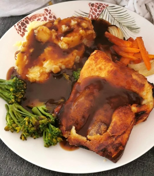 Sarah-Jane's meals