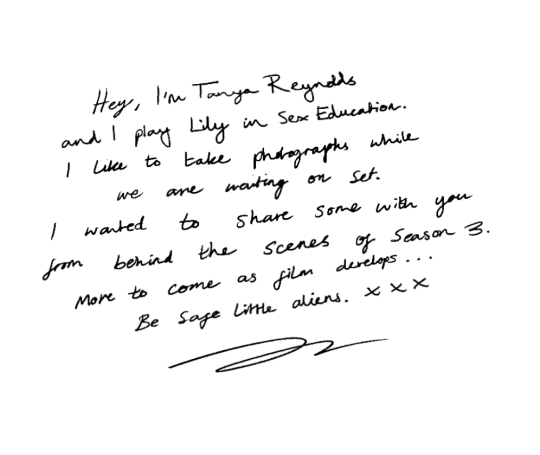 A note from tanya Reynolds